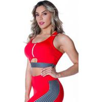Top Fitness Striped