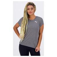 Camiseta Puma Active Mesh Heather Feminina