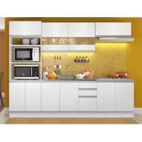 Cozinha Completa Glamy 10 Pt 3 Gv Branca
