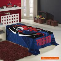 Manta Infantil Spider Man (150X220) Poliéster Colorido