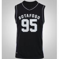 Camiseta Regata Do Botafogo Victory - Masculina - Preto/Branco
