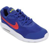 Tênis Infantil Nike Air Max Oketo Masculino - Masculino-Azul+Vermelho