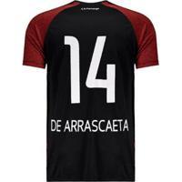 Camisa Flamengo Motion 14 De Arrascaeta - Masculino-Preto