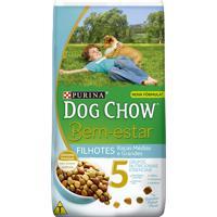 Ração Para Cães Dog Chow Bem Estar Filhotes Raças Médias E Grandes Com 3Kg