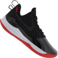 Tênis Nike Lebron Witness Iii Prm - Masculino - Preto/Vermelho