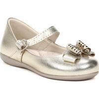 Sapato Infantil Para Bebê Menina - Feminino-Dourado