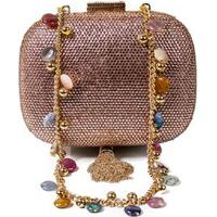 Clutch Oval Cristais Serpui Marie