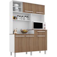 Cozinha Compacta Safira 5 Pt 1 Gv Branco E Montana