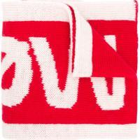 Red Valentino Cachecol De Tricô - Vermelho
