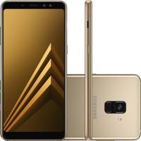 Smartphone Samsung Galaxy A8 Plus Dourado Dual Chip 64Gb Tela De 6 Câ