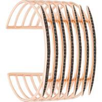 Shaun Leane Bracelete 'Quill' Banhado A Ouro Rosê - Dourado