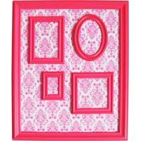 Porta Retratos Magnetico 46X57 Barroque Multiple Frame Rosa