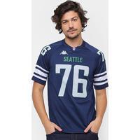 Camiseta Seattle Kappa Futebol Americano Masculina - Masculino