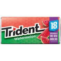 Goma De Mascar Trident Watermelon 30,6G