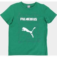 Camiseta Infantil Palmeiras Graphic Puma - Masculino