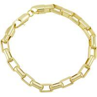 eb921196e19 Netshoes  Pulseira Tudo Jóias Cartier Folheada A Ouro 18K - Unissex-Dourado