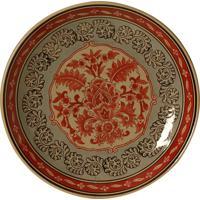 Prato De Parede Decorativo De Porcelana Aksum
