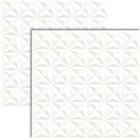 Porcelanato Bianco Vertice Retificado 61X61Cm - 61060 - Realce - Realce