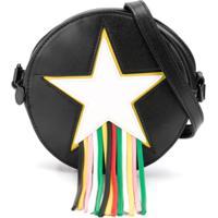 Stella Mccartney Kids Bolsa Tiracolo Star - Preto