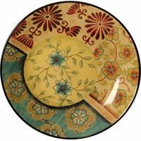 Prato De Parede Decorativo De Porcelana Rades
