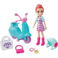 Polly Pocket Aventura Em Moto - Mattel - Kanui