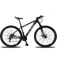 Bicicleta Aro 29 Ksw Xlt 21V Câmbios Shimano Freio A Disco Hidráulico Com Suspensão - Unissex