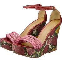 Sandália Barth Shoes Solaris Feminina - Feminino-Bordô