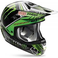 Capacete Para Motocross Thor Verge Pro Circuit/Monster - Unissex