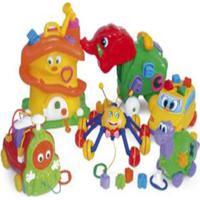 Kit Psicodiversão 6 Brinquedos Em Plástico - Jottplay - Kanui