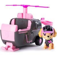 Veículo E Figura - Patrulha Canina - Helicóptero - Skye - Sunny
