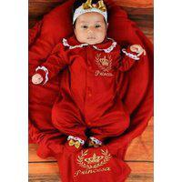 Saída De Maternidade Princesa Vermelha