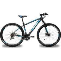 Bicicleta Aro 29 Rino Atacama Freio Hidraulico - Shimano Altus Com Trava 24V - Unissex