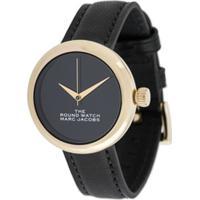 Marc Jacobs Watches Relógio The Round - Preto