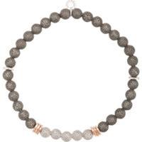 Tateossian Mesh Beaded Bracelet - Estampado
