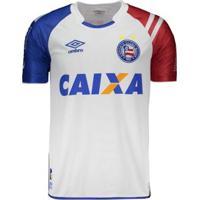 44b6f2bbbb Netshoes; Camisa Umbro Bahia I 2017 N°10 - Masculino