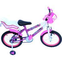 Bicicleta Aro 16 Onix Com Cadeirinha Para Boneca Infantil - Feminino