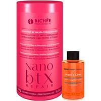 Kit Richée Nano Btx Repair Repositor De Massa Máscara + Óleo