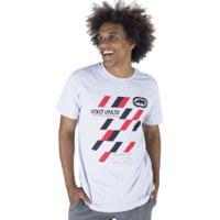 Camiseta Ecko Estampada E672A - Masculina - Cinza Claro