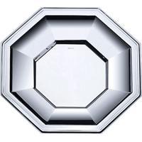 Prato Octagonal- Inox- 1Xã˜28Cm- Wolffwolff
