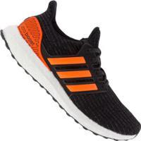 Tênis Adidas Ultraboost U - Masculino - Preto/Laranja