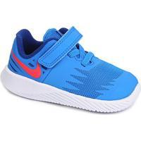Tênis Infantil Nike Star Runner - Masculino-Azul+Branco