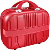 Frasqueira Contempo- Vermelha- 34,5X15,3X30Cm- Jjacki Design