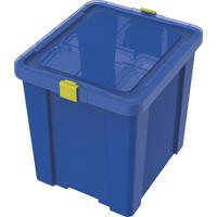 Caixa Organizadora Kids 42 Litros Azul 92552030 Tramontina