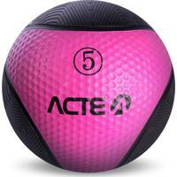 Medicine Ball 5Kg Rosa T105 Acte Sports Rosa
