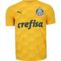 Camisa De Goleiro Do Palmeiras I 2020 Puma - Masculina - Amarelo