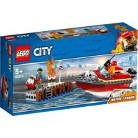 Lego City - Incêndio Na Doca - 60213 Lego 60213