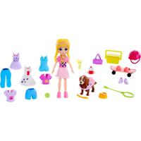 Boneca E Acessórios - Polly Pocket - Queridinho Das Meninas - Mattel