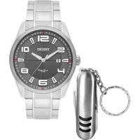 Kit Relógio Masculino Orient Mbss1297 K231I2Sx