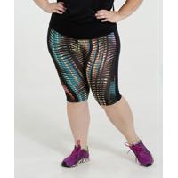 Bermuda Feminina Fitness Active Plus Size Marisa