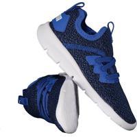 Tênis Puma Flash Knit Ac Infantil Azul